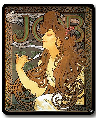1art1 Alphonse Mucha Tapis De Souris - Job, 1896 (23 x 19 cm)