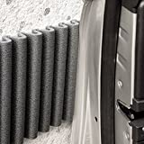 Wall Bumper di leggerodesign | Paracolpi Garage per proteggere le portiere della macchina | Set da 2 Strisce Adesive Ammortizzanti, Idrorepellenti | Ciascuna ≈ 17 cm x 1,35 m. Colore: Nero