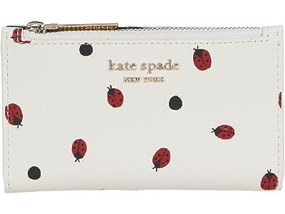Kate Spade New York Lady Bug Small Slim Bifold Wallet