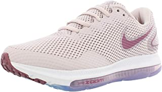 Nike W Zoom All Out Low 2 Women's Running, Size 10, Color Barely Rose/Vintage/Wine/White