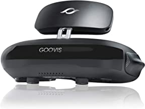 GOOVIS G2 Cinema VR Headset 3D Theater Goggles,4K Blu-ray Player with Sony OLED 1920x1080x2,HD Giant Screen Display Compatible with Set-top Box, PS4,Xbox, Nintendo,Drone, PC Smart Phone (Black)