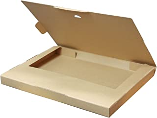 ボックスバンク クリックポスト用ダンボール箱(最大 60サイズ)100枚セット(外寸)335×245×28mm FY07-0100