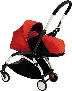 Babyzen YOYO+ Newborn Stroller - White/Red