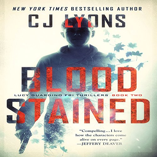 Blood Stained audiobook cover art
