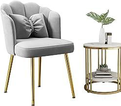 Fotel motyl krzesło metalowe nogi aksamitne krzesło biurko krzesło szary toaletka krzesło szlachetne do 150 kg