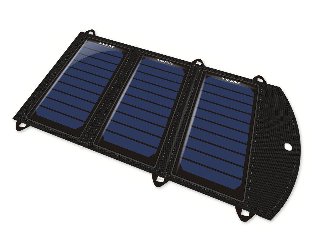 X-Moove Solargo Trail Cargador Solar para Smartphone o Tablet, 18 ...