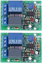 M/ódulo de Rel/é de Retardo de Tiempo de 3 Piezas Con Aislamiento de Optoacoplador DC5V CD4013 Chip 1 canal NO NC Interruptor de Rel/é de Doble Tiro de Un Solo Polo