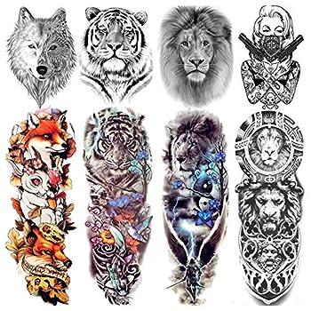 Best lion thigh tattoo Reviews
