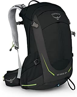 Osprey Packs Stratos 24L Backpack Black, One Size