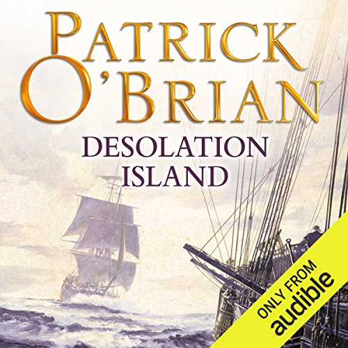 Desolation Island audiobook cover art