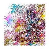 SUPVOX 5D Pintura Diamante Pintado Mariposa DIY Punto de Cruz Pintura Bordado de Diamantes para el Hogar Decoración de Pared