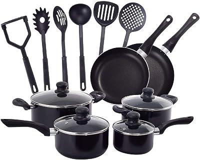16 Piece Non Stick Cooking Kitchen Cookware Set Pots And Pans Kitchen Set