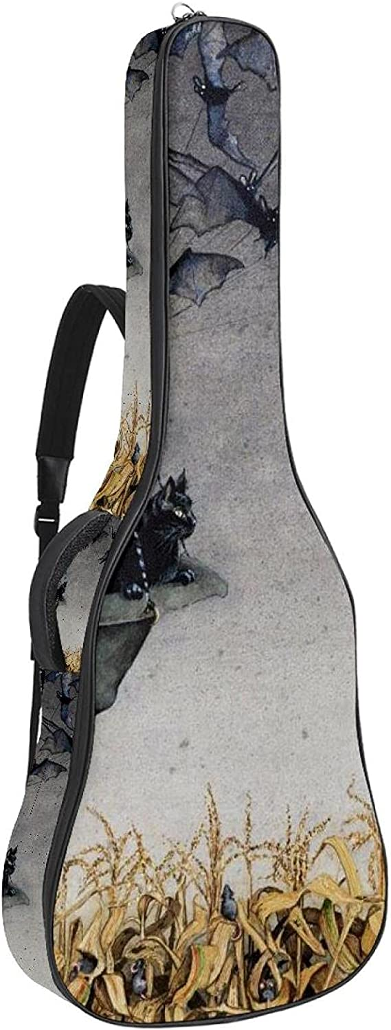 Acoustic Guitar Bag Thick Padding Max Super special price 87% OFF Waterproof Sho Dual Adjustable