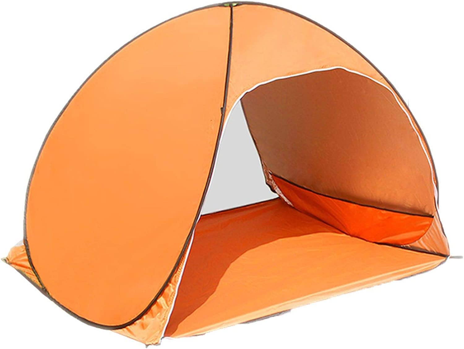 Outdoor Beach Tent Camping Tent UV Predection Shelter Outdoor Tent Sun Shelter Breathable Coated Sun Predection Tent for 12 People,Yellow