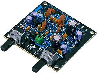 Kemo B156N FM Empfänger Bausatz für UKW Radio zum selber löten. Eingebauter Audioverstärker. Vormontierte SMD IC's und fertig gedruckte Spulen. Max. 0,7 W Musikleistung