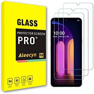 [3 Pack] LG V60 ThinQ Glass Screen Protector, Anti-Scratch, Bubble Free, HD Clarity, 3D Touch Accuracy, Case Friendly, Eas...