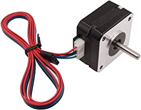 WINSINN Nema 17 Stepper Motor - Short Body, Works with 3D Printer Titan Extruder, Bipolar Step CNC 4-Lead 1.8 Deg 6V 1A Holding Torque with 1m Cable
