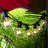 Garten Lichterketten, Chenci Innen und Außen Beleuchtung Lichterkette 27 Glühbirnen, 7.62 m Dekoration für Weihnacht Party 7 W