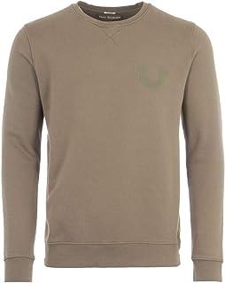 True Religion Crew Neck Sweatshirt - Olive