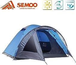SEMOO 3 Person Camping Tents 4-Season Double Layers...
