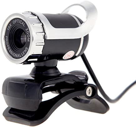KKmoon USB 2.0 50 Megapixel Webcam 360 gradi con MIC Clip-on per Desktop Skype Computer PC - Trova i prezzi più bassi