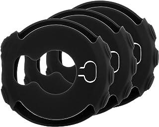 MWOOT 3 Unidades Funda Compatible con Garmin Fenix 5X y Garmin Fenix 5X Plus, Anti-caída Silicona Carcasas – Negro