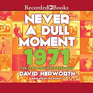 Never a Dull Moment audiobook cover art