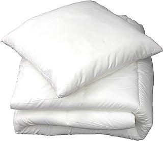 douceur d'intérieur 1641116 Oreiller Uni Confort Polyester Blanc 60 x 60 x 15 cm