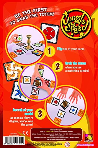 Asmodee Editions Jungle Speed 2017 Edition Game