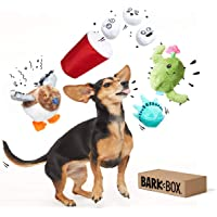 BarkBox Best of Box Plush Toy Bundle BarkBox Best of Box Plush Toy Bundle for Small, Medium, and Large Dogs, 2-in-1 Squeak and Chew Toys