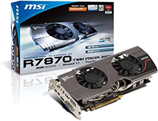 MSI AMD Radeon HD 7870 搭載ビデオカード (PCIe対応) R7870 Twin Frozr III OC 日本正規代理店品 R7870 Twin Frozr III OC