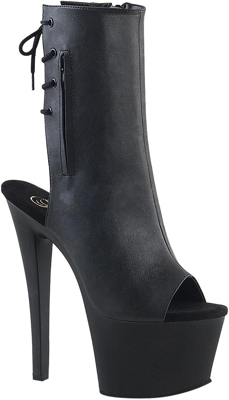 Pleaser Womens SKY-1018 B M Boots