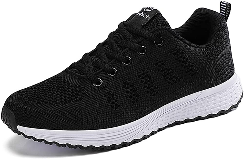 Fashion Women's Shoes All-Match Lace-up Mesh Sneakers