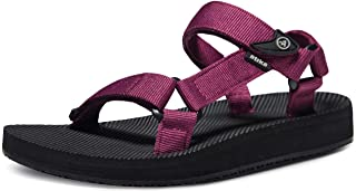 ATIKA Women's Islander Walking Sandals, Arch Support Trail Outdoor Hiking Sandals, Strap Sport Sandals