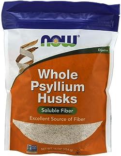 Psyllium Whole cascarilla, 16 onzas (454 g) - Now Foods