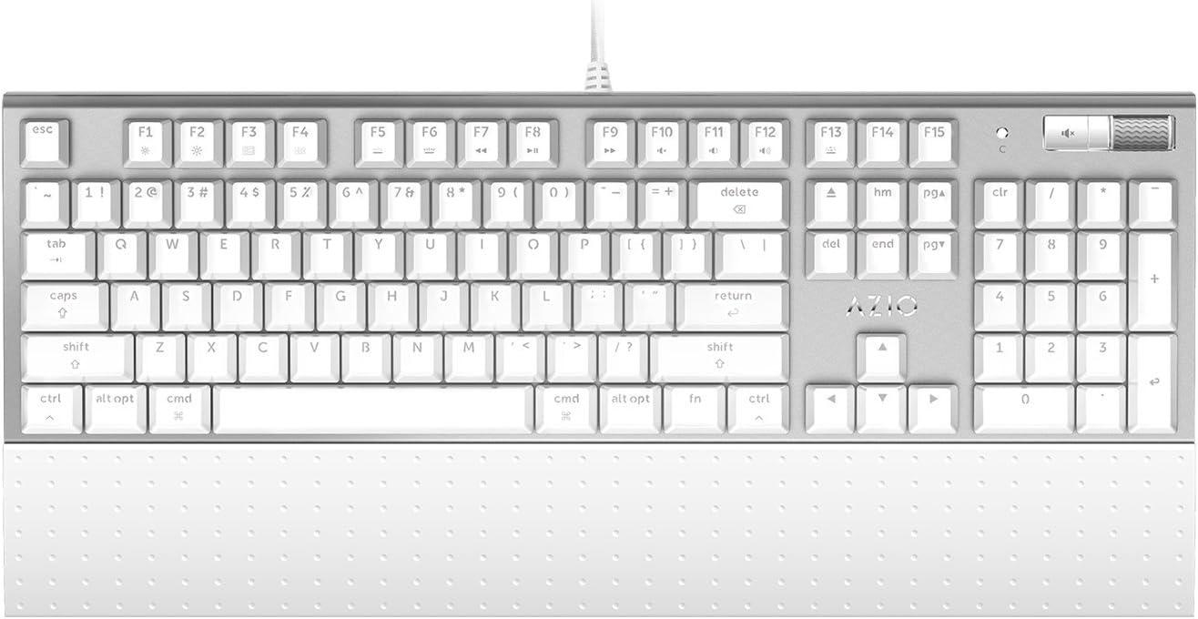 Azio USB Mechanical Backlit Keyboard for Mac