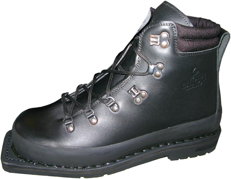Mountain Ski Boots Of The Italian Army Sole Width For Ski Bindings Ski Boots Ski Boat2.95  Boots 38-50 - Black, UK 7