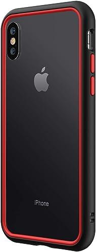 RhinoShield Ultra Protective Bumper Case Compatible with [iPhone Xs/X] | CrashGuard NX - Military Grade Drop Protecti...