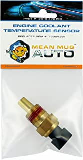 Mean Mug Auto 3818-32019B Engine Coolant Temperature Sensor - For: Chrysler, Dodge, Jeep, Plymouth, Mitsubishi - Replaces OEM #: 33004281