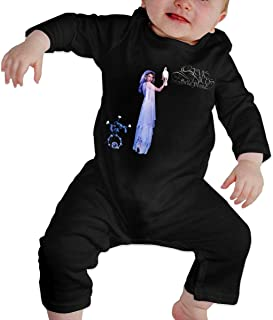 Infant Stevie Nicks Bella Donna Adorable Music Band Long Sleeves Crawler