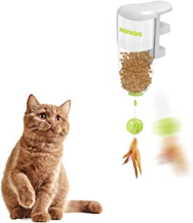 All for Paws Cat Interactive Treat Toy, Cat Wand Toy