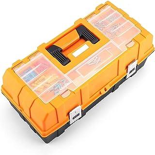 YIN YIN - Caja de almacenamiento de herramientas Caja de almacenamiento de herramientas portátil, caja de almacenamiento d...