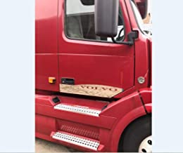 Volvo Vnl Trim Plate - Bottom Door Stainless Steel Set of 2 Fits 1998-2017