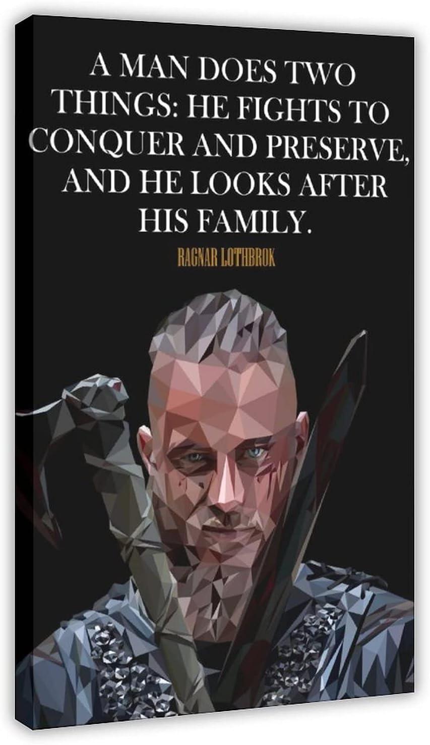 Vikings TV Show Ragnar Alternative dealer Credence Lothbrok Vintage Movie 2 C Classic Poster