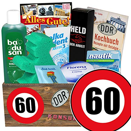 60. Geburtstag / Pflege Set / Geburtstag lustige Geschenke