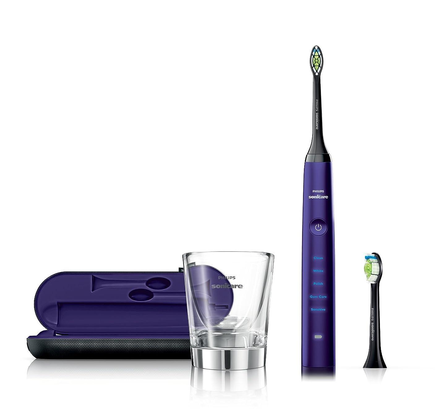 マージ付属品ジムPhilips Sonicare ダイヤモンドクリーン ソニック 充電式電動歯ブラシ HX9372/04