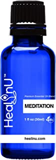 Sponsored Ad - Healinu Meditation - Meditation and Yoga Blend Aromatherapy Essential Oil for Adults - Pure and Natural Moo...