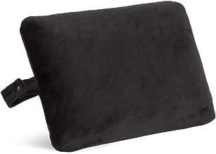 World's Best, Black Cushion Soft Memory Foam Rectangle Pillow