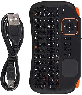 Yoidesu Mini Wireless Keyboard with Touchpad Mouse,2.4GHz Mini Wireless Keyboard Controller with 83-Key,Rechargeable Mini Keyboard