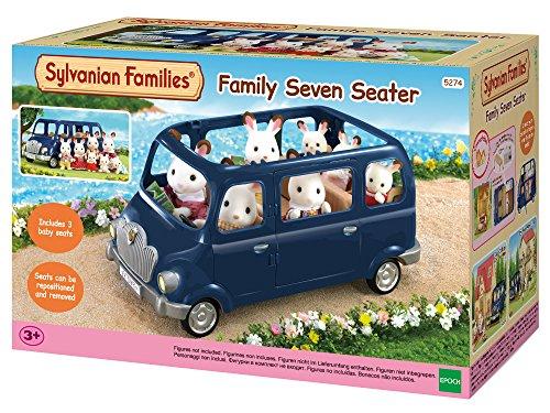 Sylvanian Families - 5274 - Coche familiar siete plazas